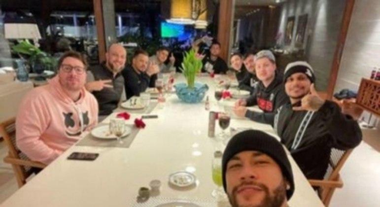 Neymar e amigos