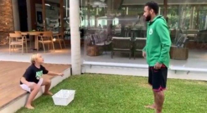 Neymar e Filho - Pegadinha