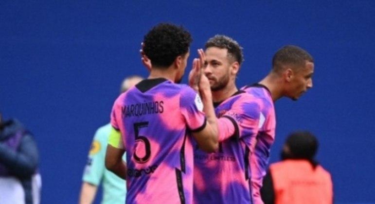 Neymar e Marquinhos