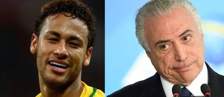 Entra Neymar e sai Temer dos noticiários