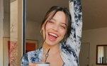 Emilia já foi perguntada sobre a relação com o brasileiro. Em entrevista ao site 'Latinx Now', dos Estados Unidos, a cantora desconversou...