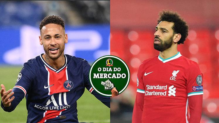 Neymar está cada vez mais próximo de anunciar o seu futuro oficialmente no PSG. O Liverpool pode pensar em vender Mohamed Salah para pensar na próxima temporada do clube. Tudo isso e muito mais no Dia do Mercado de quarta-feira.