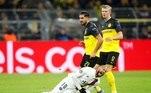 Neymar, falta, PSG, Dortmund