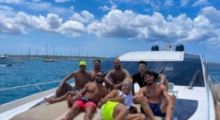 Neymar - Férias 2021