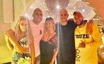Quem também está em Ibiza são os amigos de PSG Mauro Icardi e Navas