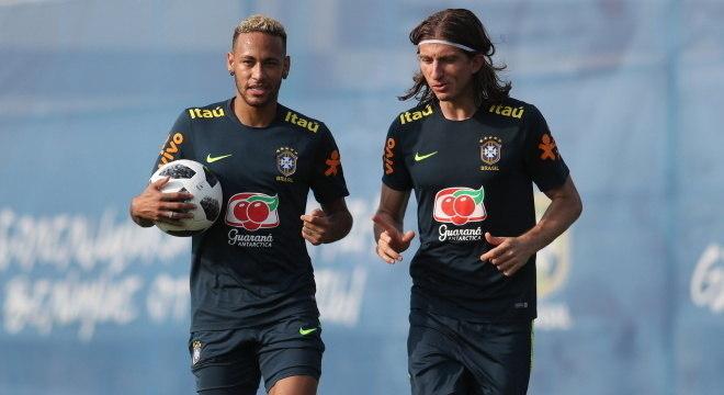 Jogadores atuaram juntos pela seleção brasileira na Copa América de 2019