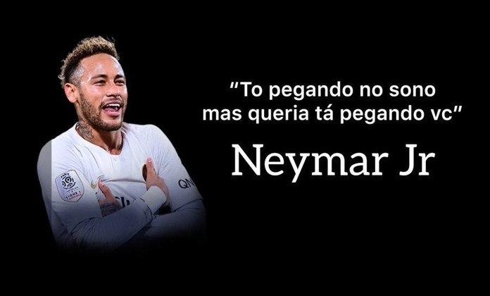 Neymar ganhou certa fama de pegador entre os torcedores