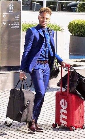 Neymar com novo visual
