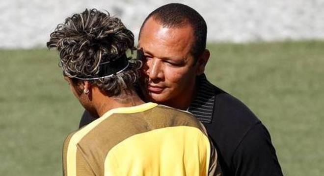 O Júnior e o Neymar pai