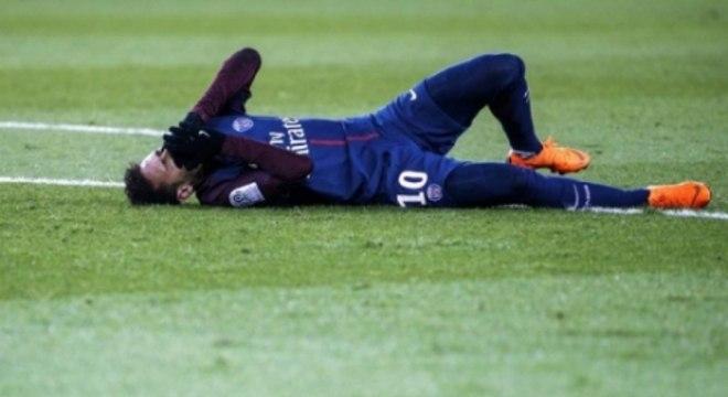 Primeira lesão no PSG foi na coxa esquerda