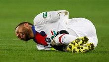 Neymar lamenta ausência em jogo decisivo do PSG contra o Barça