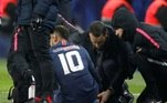 Neymar, lesões