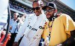 Neymar, Lewis Hamilton, GP de Barcelona