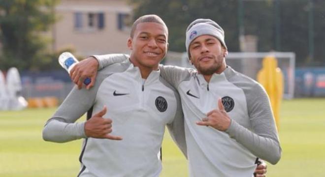 Neymar está perdendo o papel principal no PSG para Mbappé