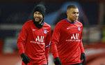 Neymar, Mbappé, PSG,