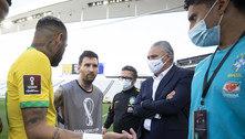 Brasil e Argentina criticam atuação da Anvisa em partida suspensa