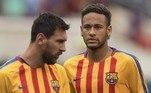 Ao lado de Messi, Neymar viveu seus melhores momentos na carreira. O tímido garoto que chegava do Santos em 2013 se transformou num dos maiores jogadores da sua geração em pouquíssimo tempo, muito por conta da parceria com o craque argentino