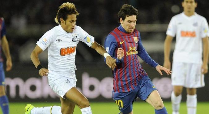 Santos x Barcelona, no Mundial 2011, marcou nova realidade do futebol brasileiro