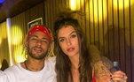 Neymar admitiu que já se relacionou com nomes como: a DJ Bárbara Labres