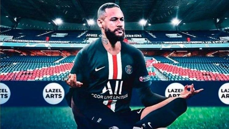 Neymar - O craque brasileiro teria mais um companheiro de peso no ataque do PSG. Assim seria um ataque dos sonhos.