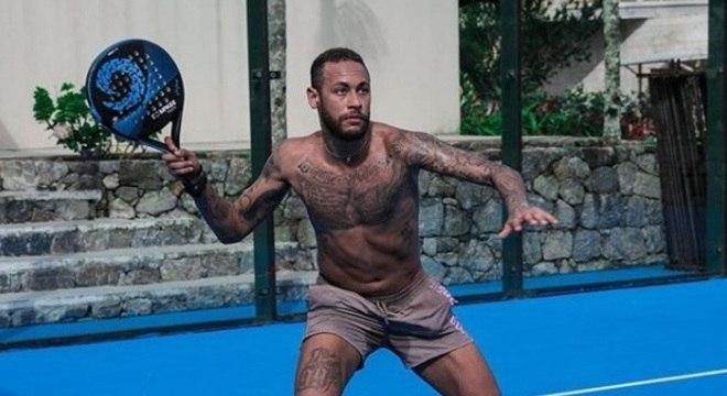 Neymar está praticando um novo esporte no período de quarentena