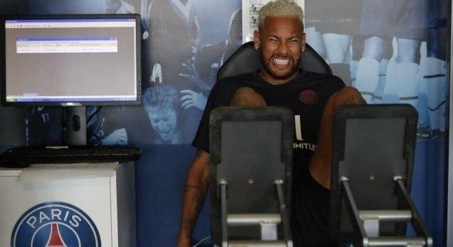 Neymar vai para a China com o PSG na pré-temporada