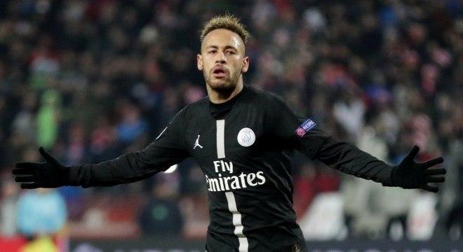 Além dos 11 gols na Ligue 1, Neymar marcou outros cinco na Liga dos Campeões
