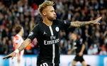 Mas não só de assistências vive Neymar! O camisa 10 do PSG tem em sua carreira 18hat-tricks, quando o jogador faz três gols em uma só partida