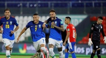 Brasil venceu o Paraguai pelas Eliminatórias