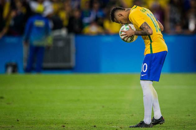 Neymar, seleção brasileira, Rio 2016,