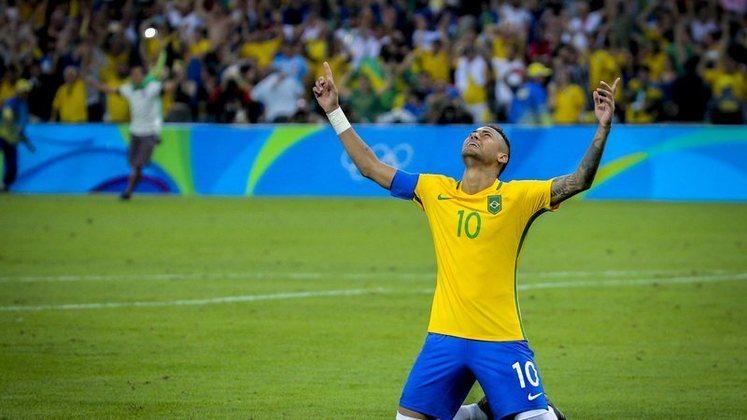 neymar, seleção, neymar seleção olimpiada 2016