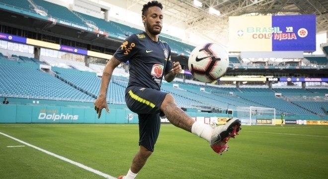 Neymar vai voltar a jogar depois de três meses parado