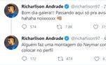 E já avisou que hoje tem gol de Neymar