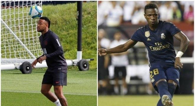 Real Madrid quer Neymar e aceita trocar por Vinícius Junior