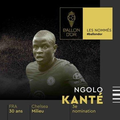 N'Golo Kanté (francês) - meia - Chelsea