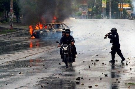 Polícia teria executado manifestantes na Nicarágua