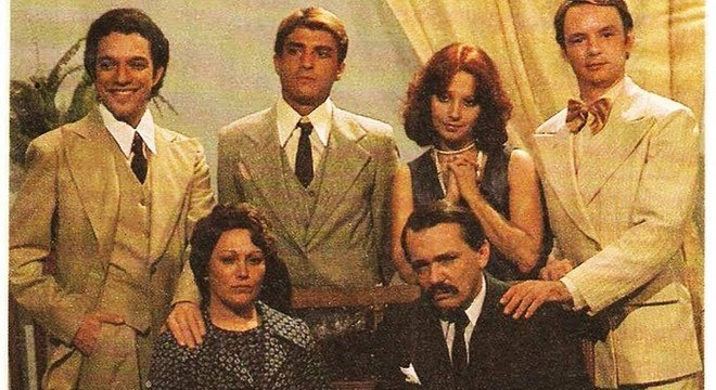 Nicette Bruno e Guarnieri em 'Éramos Seis'
