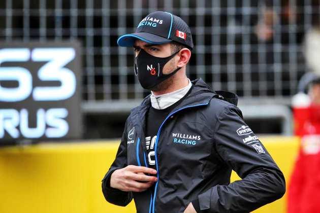 Nicholas Latifi abandonou o GP da Turquia