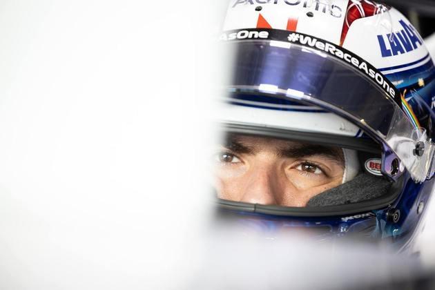 Nicholas Latifi andou bem e foi o 14º mais veloz do dia em Portugal