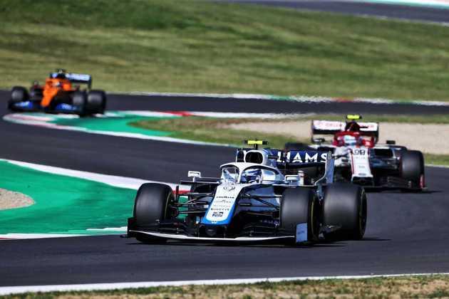Nicholas Latifi deu apenas 7 voltas no GP da Toscana