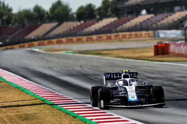 Nicholas Latifi foi apenas o 18º colocado em Barcelona