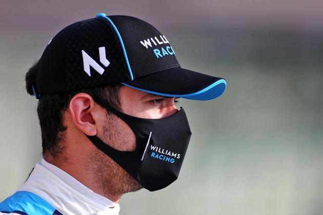 Nicholas Latifi não pontuou no ano passado, quando estreou na F-1, mas segue na Williams para a temporada 2021