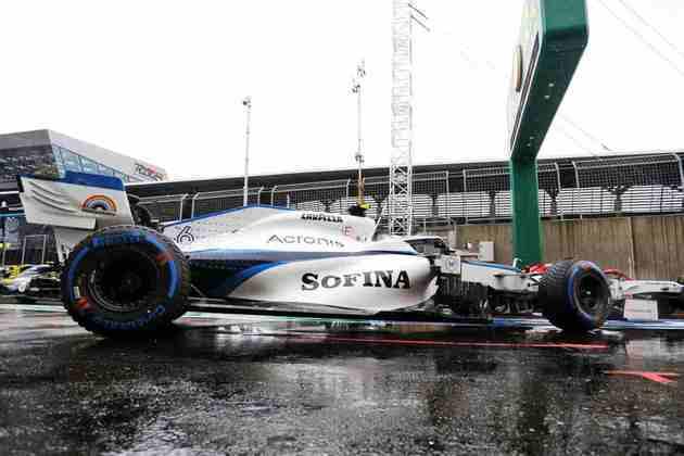 Nicholas Latifi terminou a corrida da semana passada na 11ª colocação