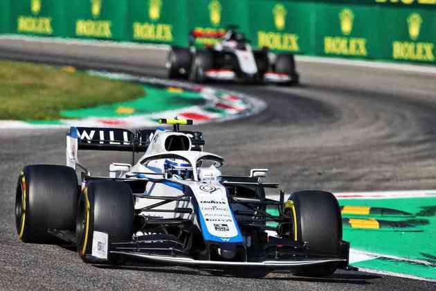 Nicholas Latifi terminou a corrida no circuito italiano em 11º