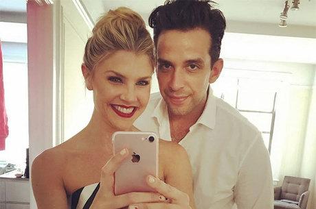 Nick Cordero e Amanda Kloots: casal tem um filho