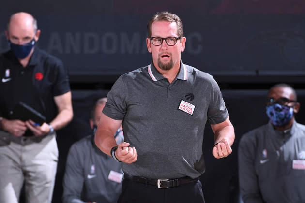 Nick Nurse (técnico) - Em apenas dois anos no cargo, Nurse acumula o título de 2018-19 e o prêmio de melhor treinador da atual temporada. Vem mais por aí