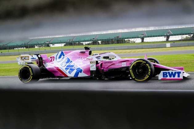 Nico Hülkenberg voltou à Fórmula 1 e fez o 13º melhor tempo na classificação