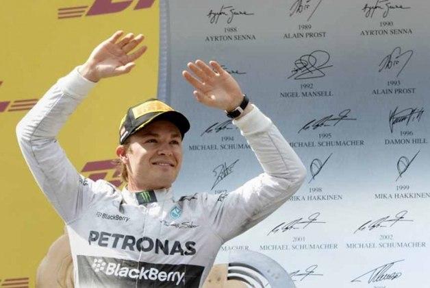 Nico Rosberg - Filho de Keke Rosberg, campeão Mundial de Fórmula 1 em 1982, com a Williams. O piloto finlandês conquistou o campeonato em 2016 pela Mercedes e anunciou sua aposentadoria cinco dias após de obter o troféu