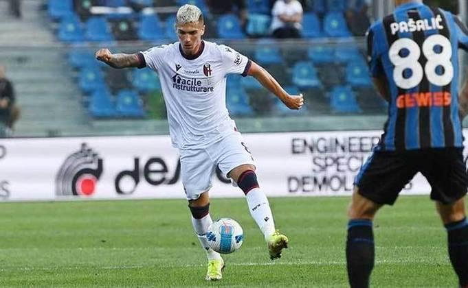 Nicolás Dominguez - 23 anos - Bologna - Meio-campista: atual titular da posição no Bologna. (Sua convocação pode ser afetada)