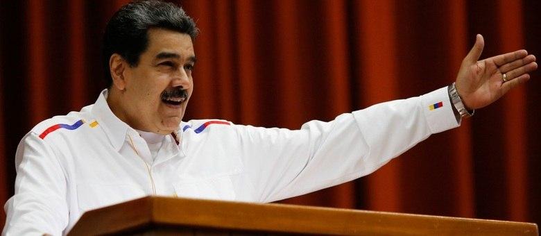 Durante evento, Maduro chamou Guaidó de 'fantoche' do Donald Trump